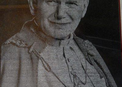 GRAWEROWANIE Portret sw Jana Pawła II