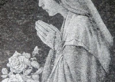 GRAWEROWANIE Wizerunek Matki Boskiej