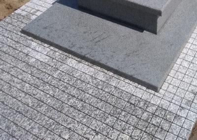 Okladziny Granitowe Jasne Imitacja Kostki